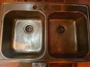 Sink faucet and counters for sale
