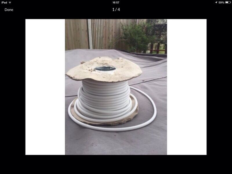 Reel of cable