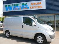 2011 Vauxhall VIVARO 2700 CDTI SPORTIVE 115ps Van *SILVER* Manual Medium Van