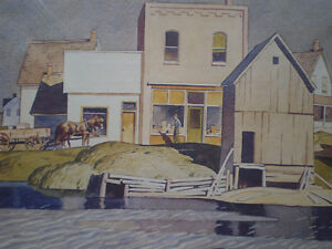 """A.J. Casson - """" Bobcaygon """" Limited Edition Print Kitchener / Waterloo Kitchener Area image 9"""