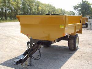 4 ton off road Farm/Construction Dump trailer London Ontario image 2