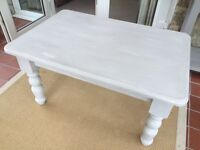 Lovely painted pine coffee table