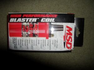 MSD 45,000 Volt High Performance Blaster Coil ( Brand New )