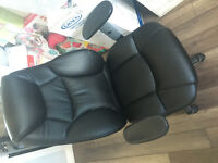 New leather reclining computer chair