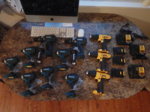 New cordless drills and drivers