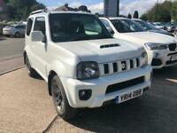 SUZUKI JIMNY 1.3 ( 85ps ) 4X4 Auto SZ4 WHITE 2014
