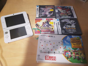 Animal Crossing Limited Edition 3DS XL + Games