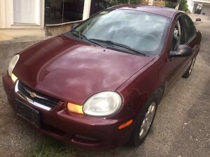2002 Chrysler Neon, Low km