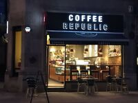 Lead Barista required