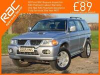 2005 Mitsubishi Shogun Sport 2.5 TD Turbo Diesel Warrior 4x4 4WD Full Leather I