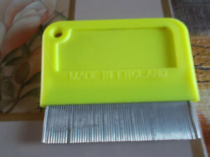 WANTED FLEA COMB MADE LIKE THIS