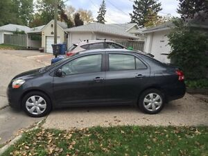 2007 Toyota Yaris Sedan - LOW KM, Remote Srt, Winter Tires