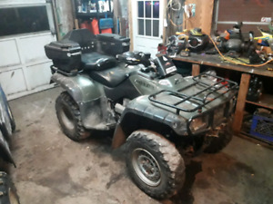 Honda 350 trade for automatic 4x4 atv