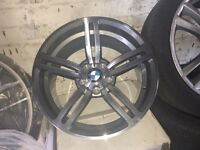 BMW m6 m5 m3 m sport x3 5120 alloy wheels x4 full set alloys brand new