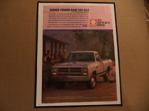 OLD PICKUP CLASSIC CAR ADS man cave Windsor Region Ontario image 2