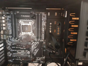 Nzxt E-ATX case with x79 Motherboard