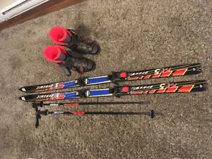 Men Skis circa 1998 - Dynamic Ski, Tyrolla Binding, Nordica Boot