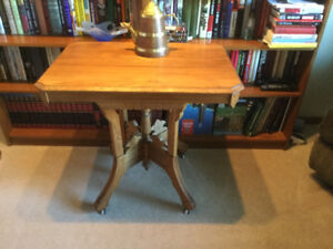 Carved antique table, very good condition