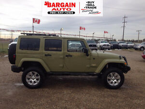 2014 Jeep Wrangler Sahara Edition GREAT FOR WINTER
