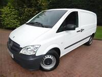 2013 Mercedes-Benz Vito 113 2.1 CDI Compact PANEL VAN WITH AIR/CON