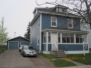 DOWNTOWN MONCTON UP AND DOWN DUPLEX WITH GARAGE NEG