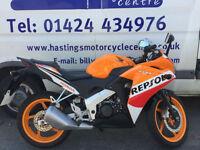 Honda CBR125R Repsol Racing / Learner Legal Sports Bike / Finance / Delivery