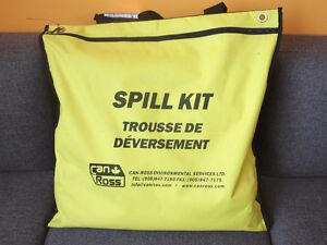 CAN-ROSS UNIVERSAL SPILL KITS - YELLOW NYLON BAG - NEW Kitchener / Waterloo Kitchener Area image 1