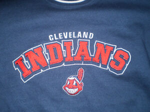 Cleveland Indians Sweater/Sweat Shirt Embroidered Logo - NICE! London Ontario image 3