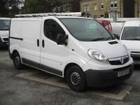 2007 VAUXHALL VIVARO 2900 SWB 2.0 CDTI Diesel Van