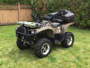 TWO 2009 Yamaha Grizzly 700FI decked out ATV's!!