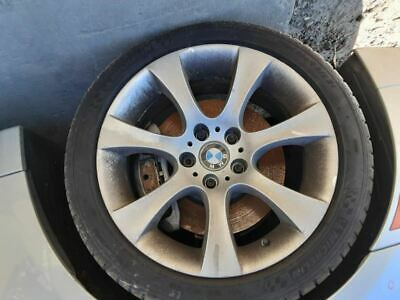 Wheel 04 05 BMW 545I 18X9 Alloy 7 Spoke Flared End Spoke Rear 3025354