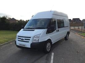 FORD TRANSIT 350 LWB HIGH MESS / UTILITY VAN 2.2 RWD 125 BHP 6 SPEED 2012 12