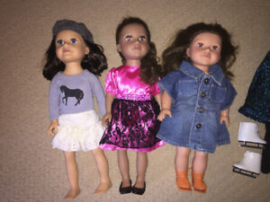 Journey Girls dolls, clothes & accessories (like American Girls)