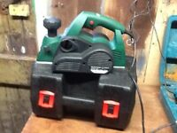 Parkside 950w electric power planer