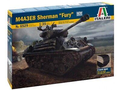 "Italeri 6529 WWII M4A3E8 Sherman tank ""FURY"" Movie model kit 1/35"