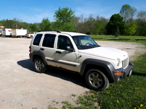 As Is 2003 Jeep Liberty