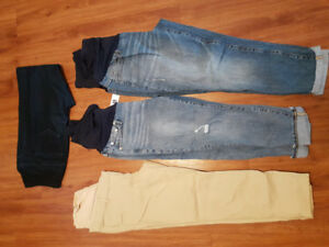 Maternity jeans/pants $10 each O.B.O