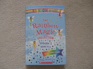 The Rainbow Magic Collection Volume 1 Harcover Book (4 Books In