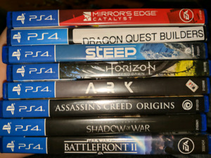 Ps4 PlayStation 4 games