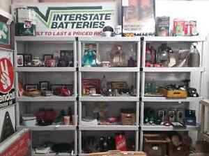 Nostalgia signs, tins license plates plus 600 booths full Peterborough Peterborough Area image 5
