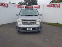 2005 NISSAN ELGRAND 2.5 AUTOMATIC 7 SEATER.AMAZING SPEC.STUNNING LOOKING VEHICLE