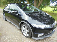 Honda Civic 1.8i-VTEC Type S GT 3DOOR ONE OWNER SERVICE HISTORY