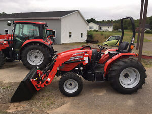 McCormick 35hp Tractor with Loader - SUNNY SPRING SPECIAL!