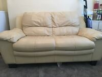 Cream 2 seater couch