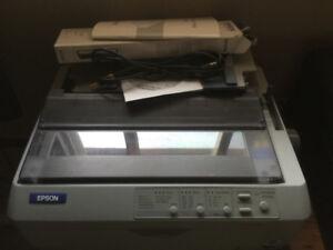 Epson 24 pin dot matrix printer