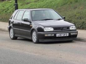 1993/ L reg Volkswagen Golf 2.8 VR6, only 68000 genuine miles