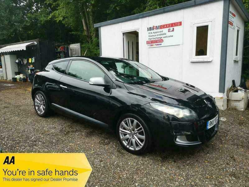 2011 Renault Megane GT LINE TOMTOM TCE COUPE Petrol Manual