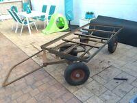 Heavy Duty Pull-Cart/Trailer - Steerable Front