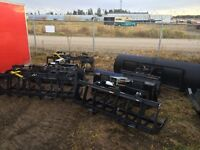 TRACKS & Brand new grapple buckets w/dual grapples & others
