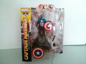 Marvel Select Captain America $30
